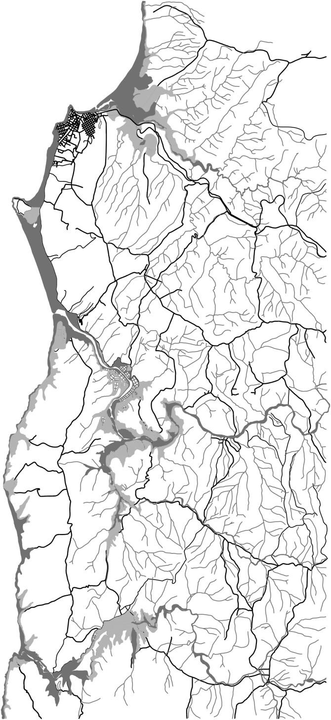 CAHUIL-EN-MACROREGION_PLANO-HIDRICO y RUTAS